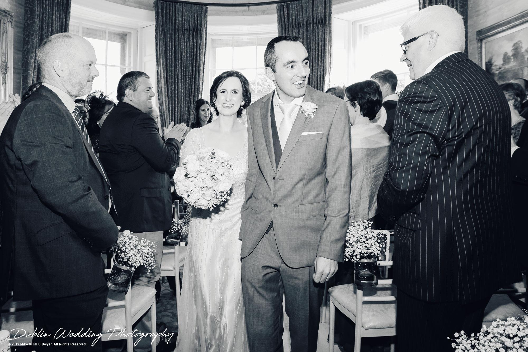 Bellingham Castle, Wedding Photographer, Louth, Dublin, Bride & Groom Just Married