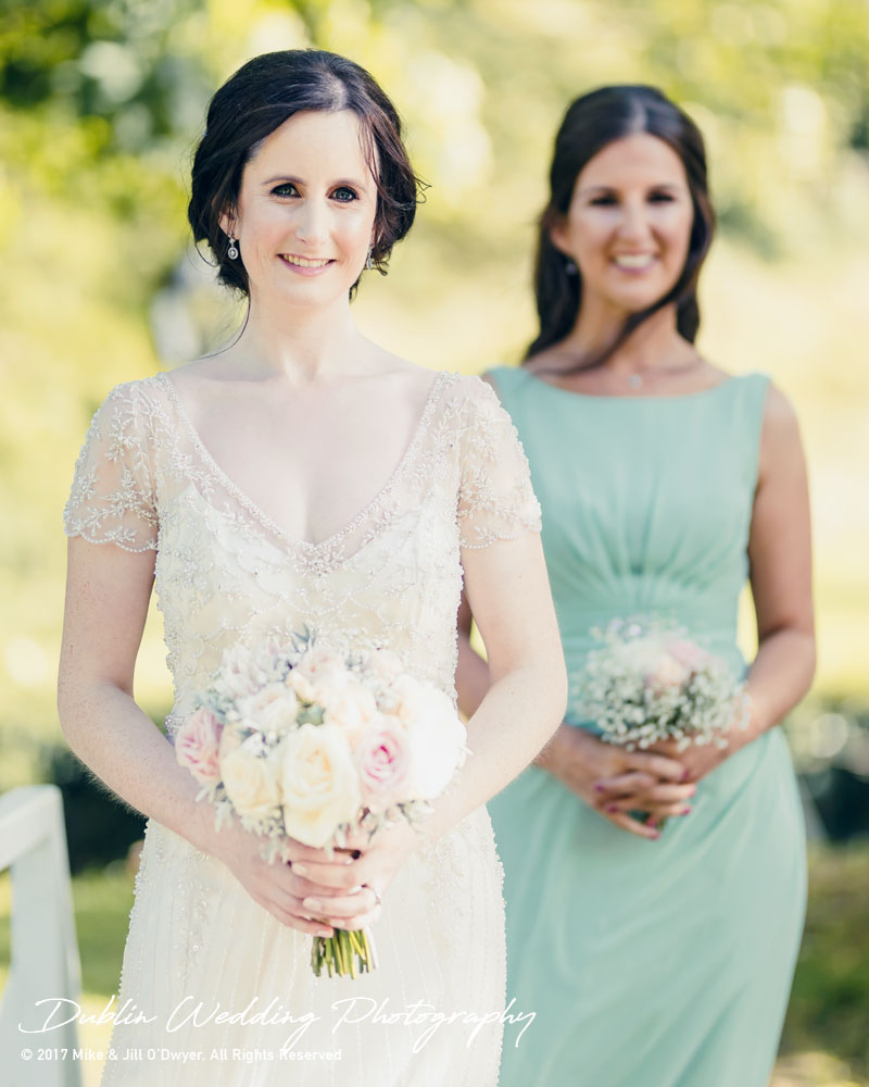 Bellingham Castle, Wedding Photographer, Louth, Dublin, Bride & Bridesmaid