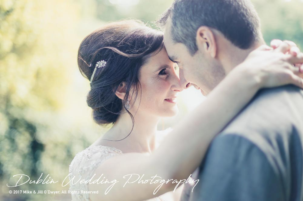 Bellingham Castle, Wedding Photographer, Louth, Dublin, Bride & Groom Holding each other
