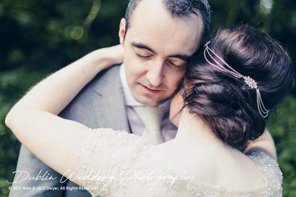 Bellingham Castle, Wedding Photographer, Louth, Dublin, Bride & Groom Embrace