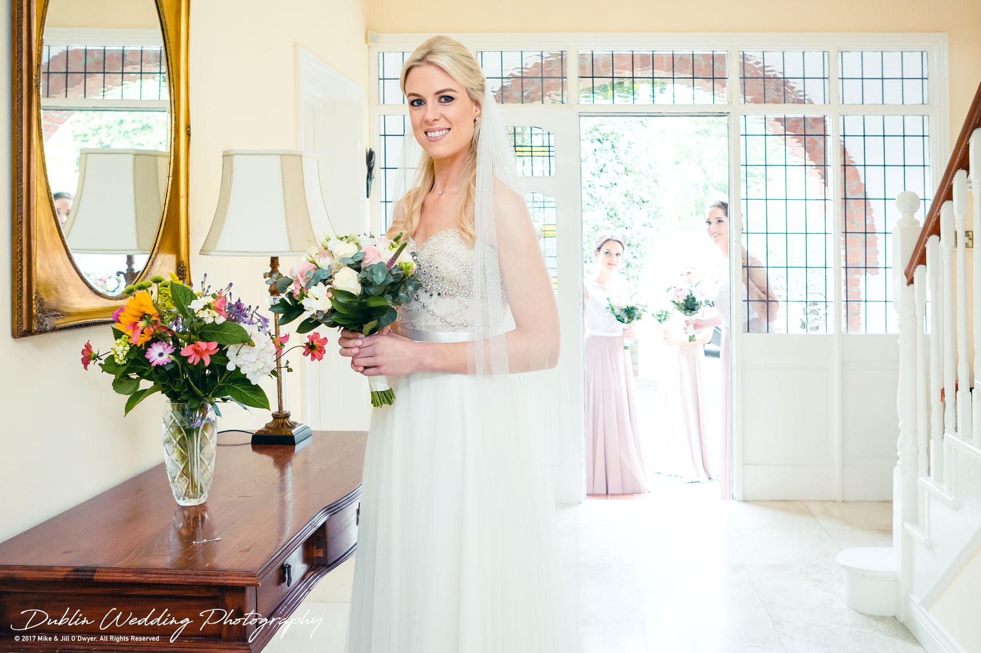 K Club, Kildare, Wedding Photographer, Dublin, Bride Leaving House in the morning