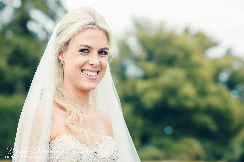 K Club, Kildare, Wedding Photographer, Dublin, The happiest Bride at the K Club