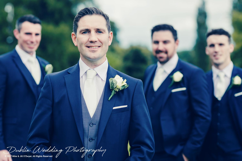 K Club, Kildare, Wedding Photographer, Dublin, The Groom and Groomsmen at the K Club