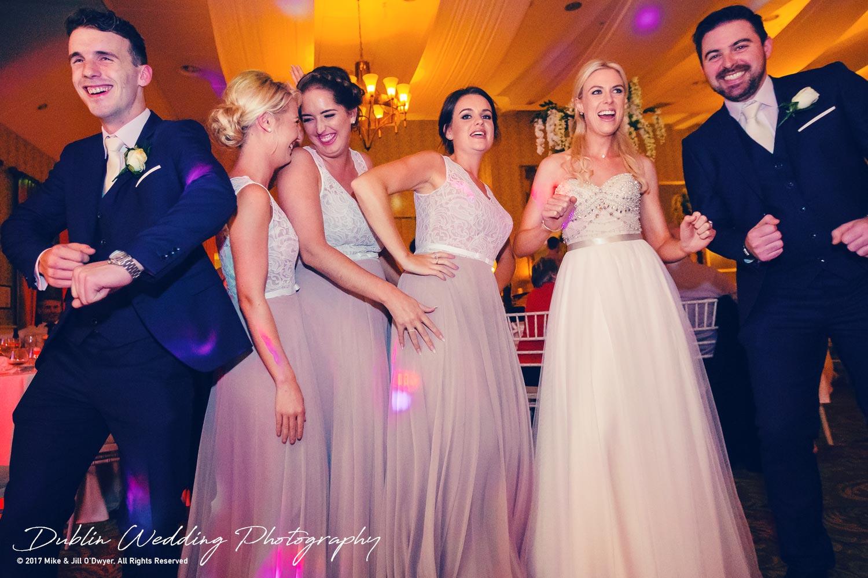 K Club, Kildare, Wedding Photographer, Dublin, everyone getting ready for the first dances
