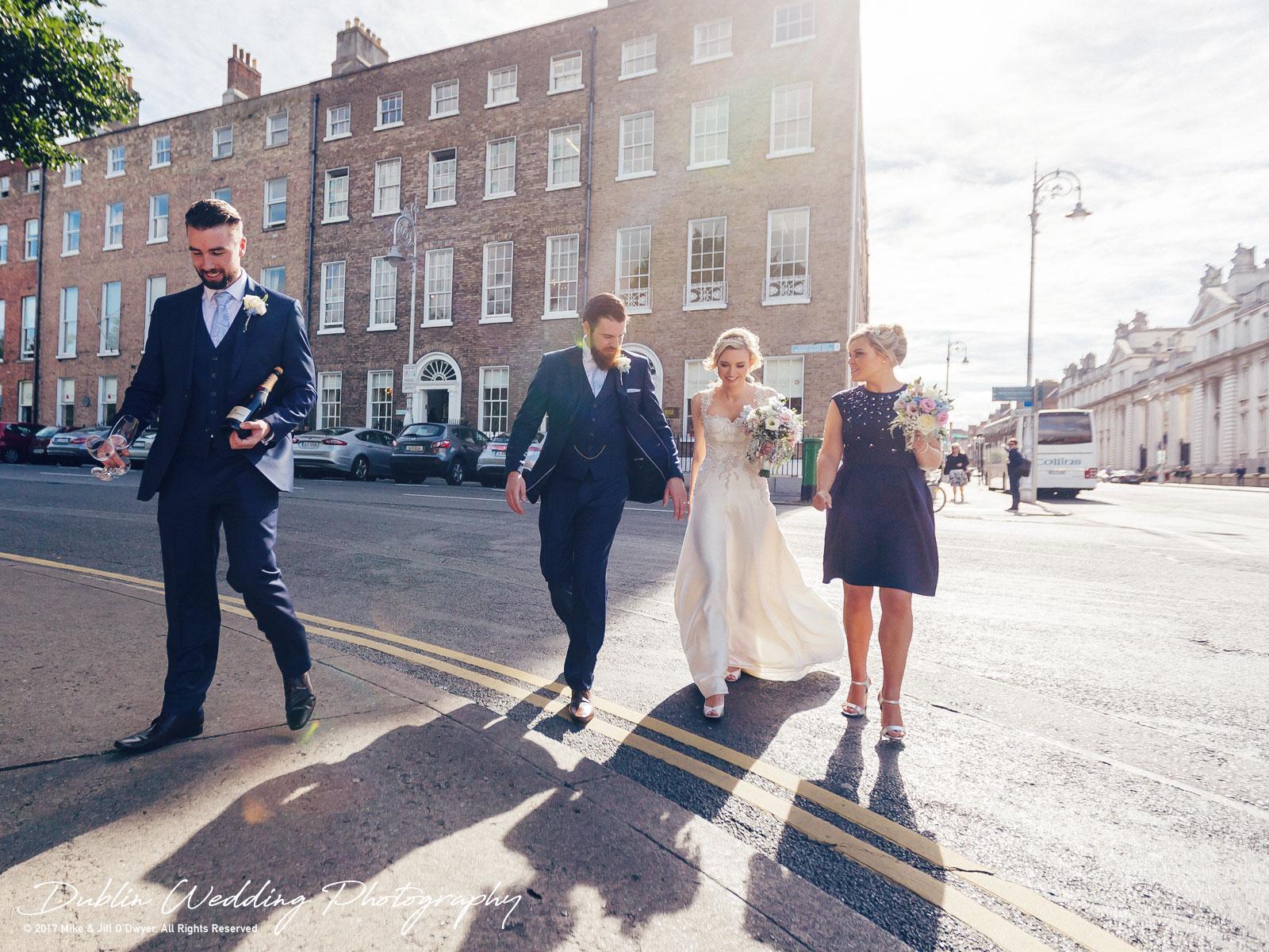 Dublin Wedding Photographer City Streets 046