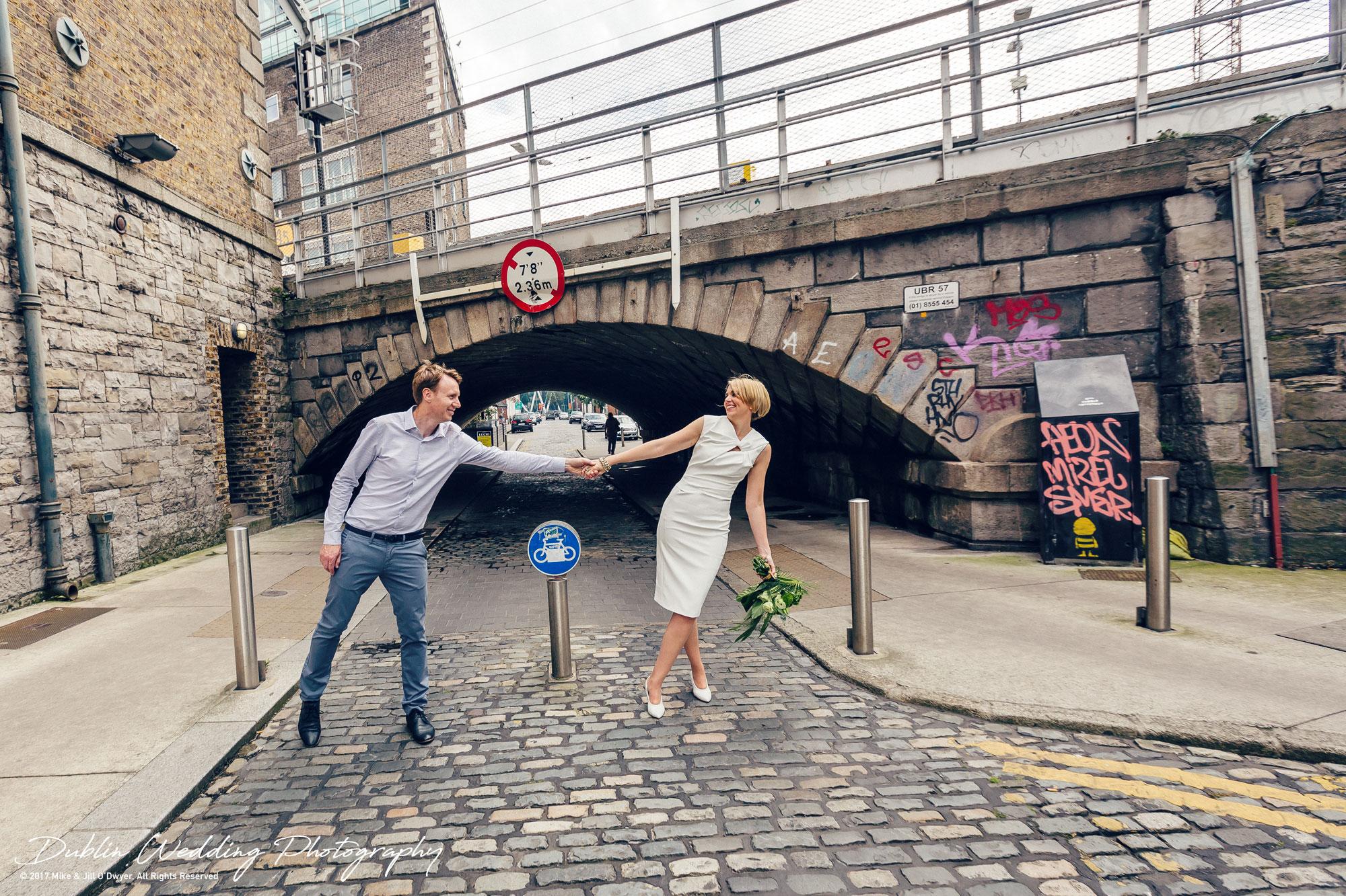 Dublin Wedding Photographer City Streets 090