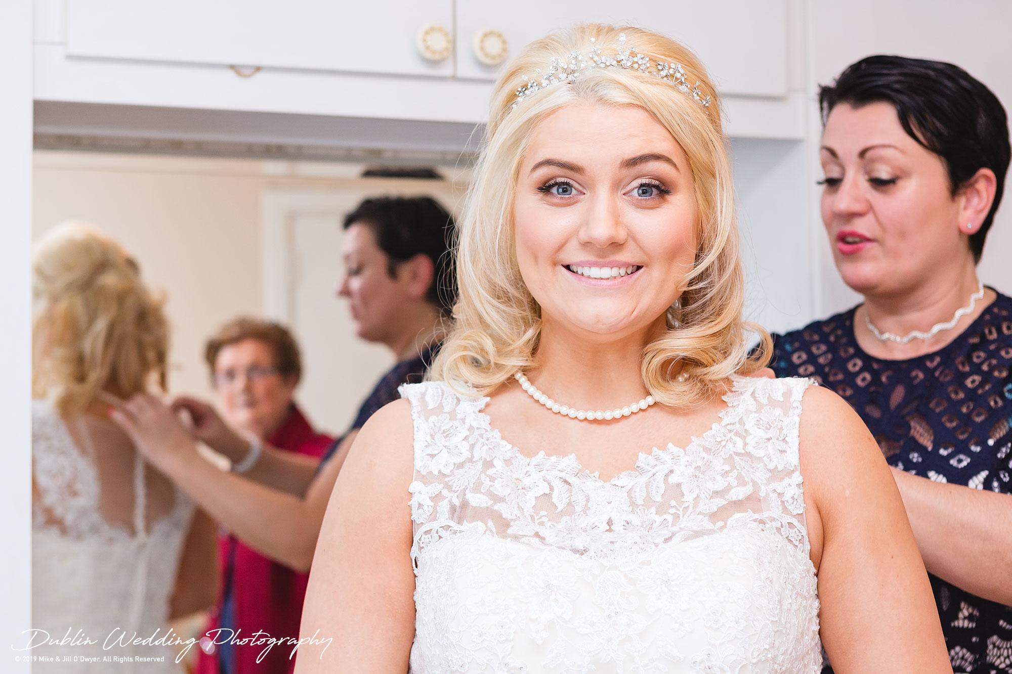 Wedding Photographer in Wicklow Glenview Hotel Bride Prep 04
