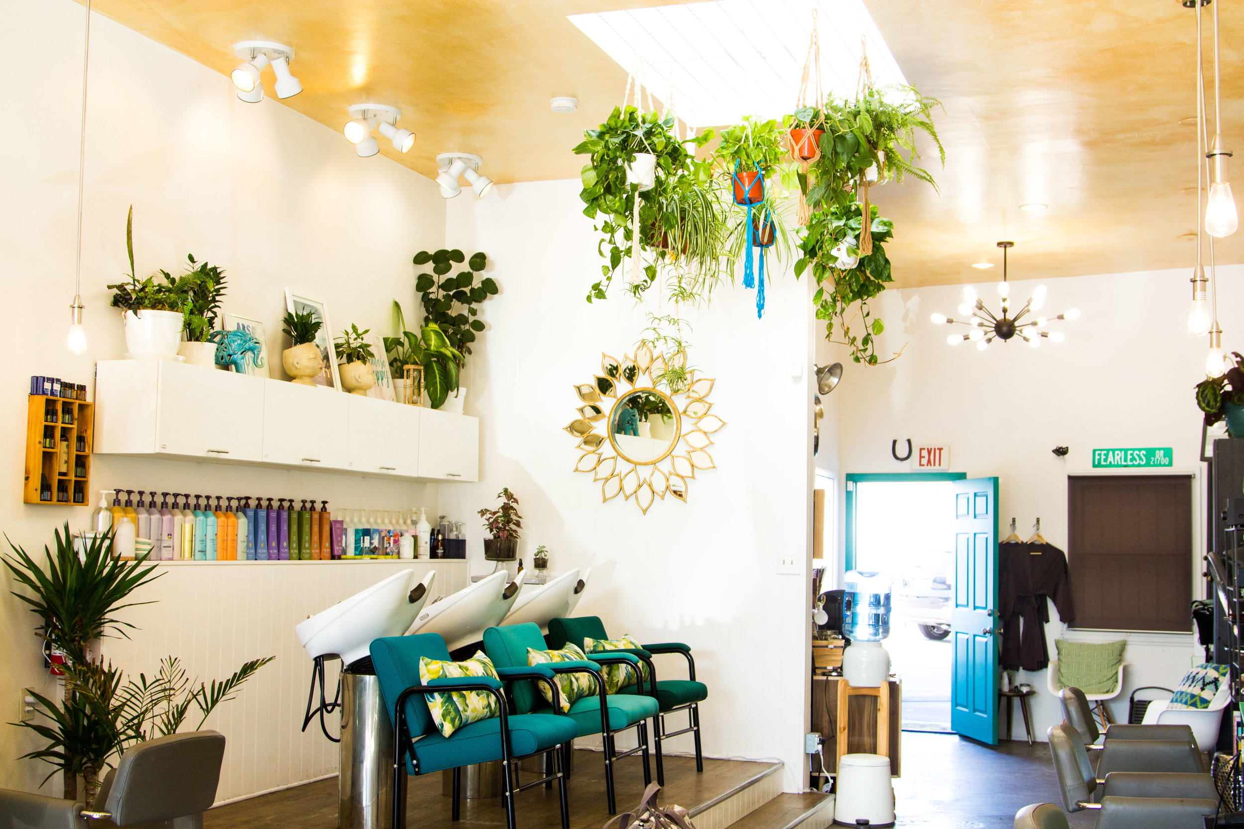 A new concept salon with a focus on mindful beauty practices. -