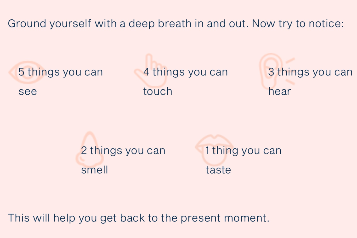 Mindfulness can help… -