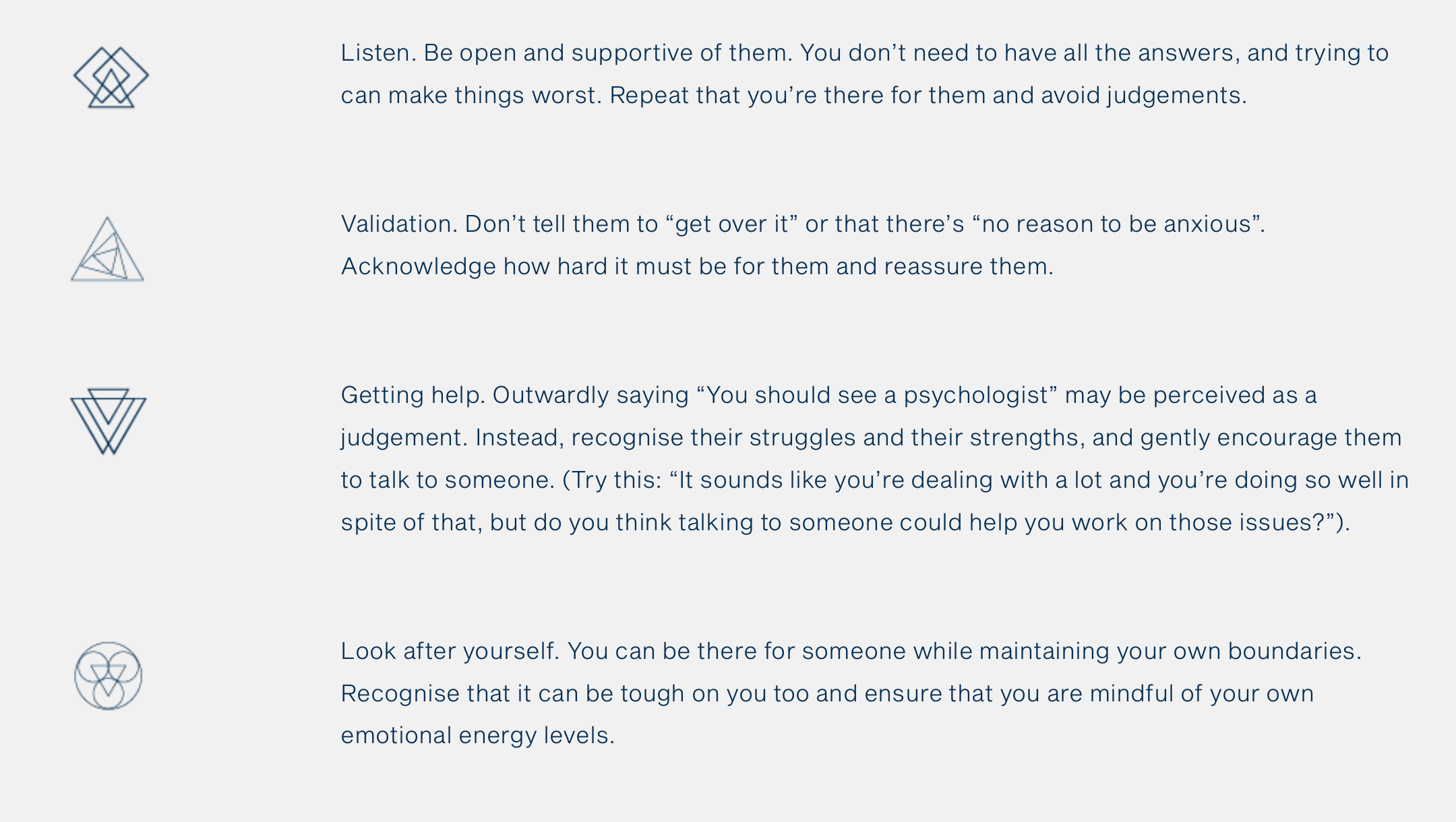 How to Support a Friend or Partner with Anxiety? -