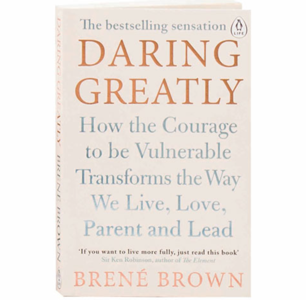 A Book to Read… - In Daring Greatly, Dr. Brown challenges everything we think we know about vulnerability. Based on twelve years of research, she argues that vulnerability is not weakness, but rather our clearest path to courage, engagement, and meaningful connection.
