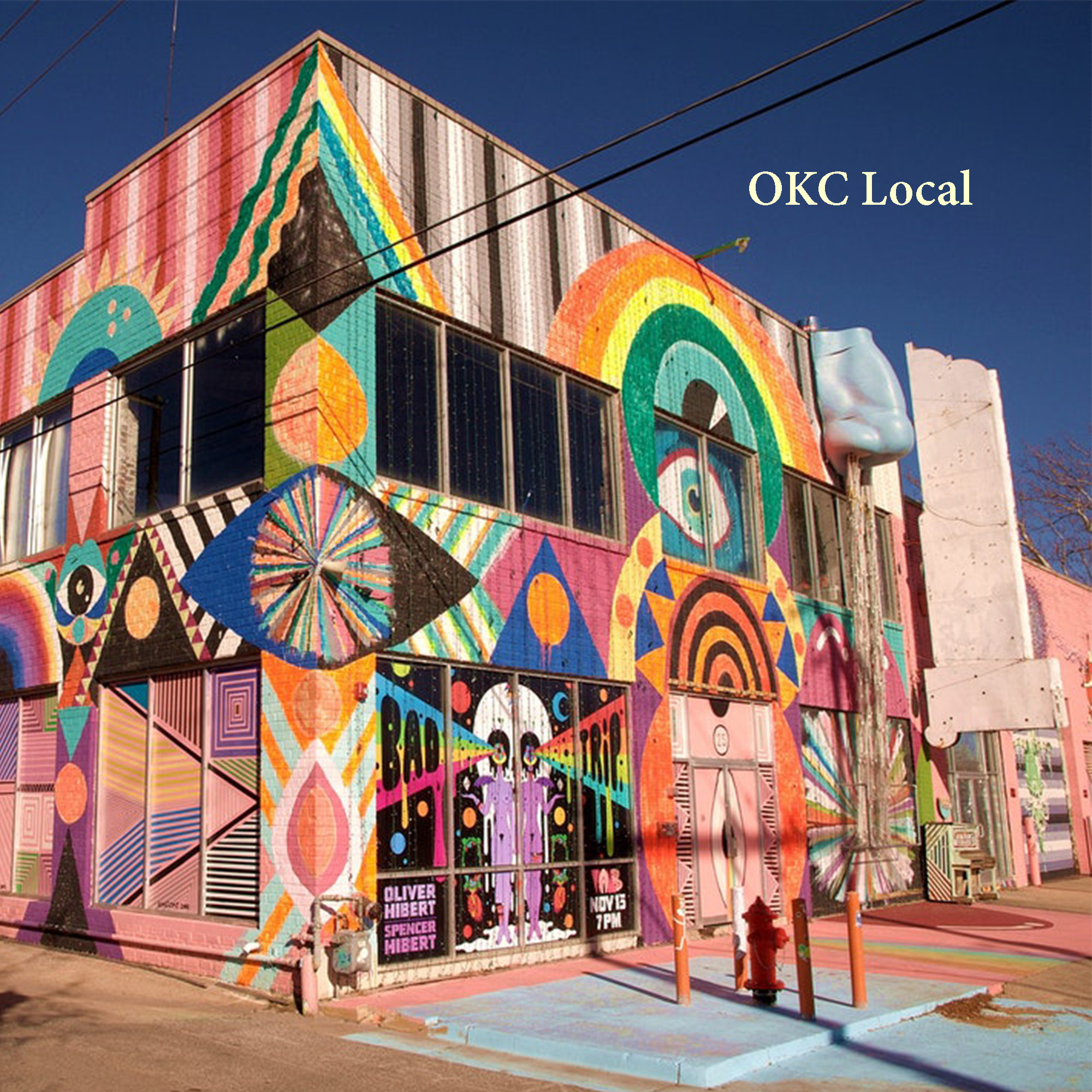 OKC Local   Local OKC Artists. By Averi Campbell.