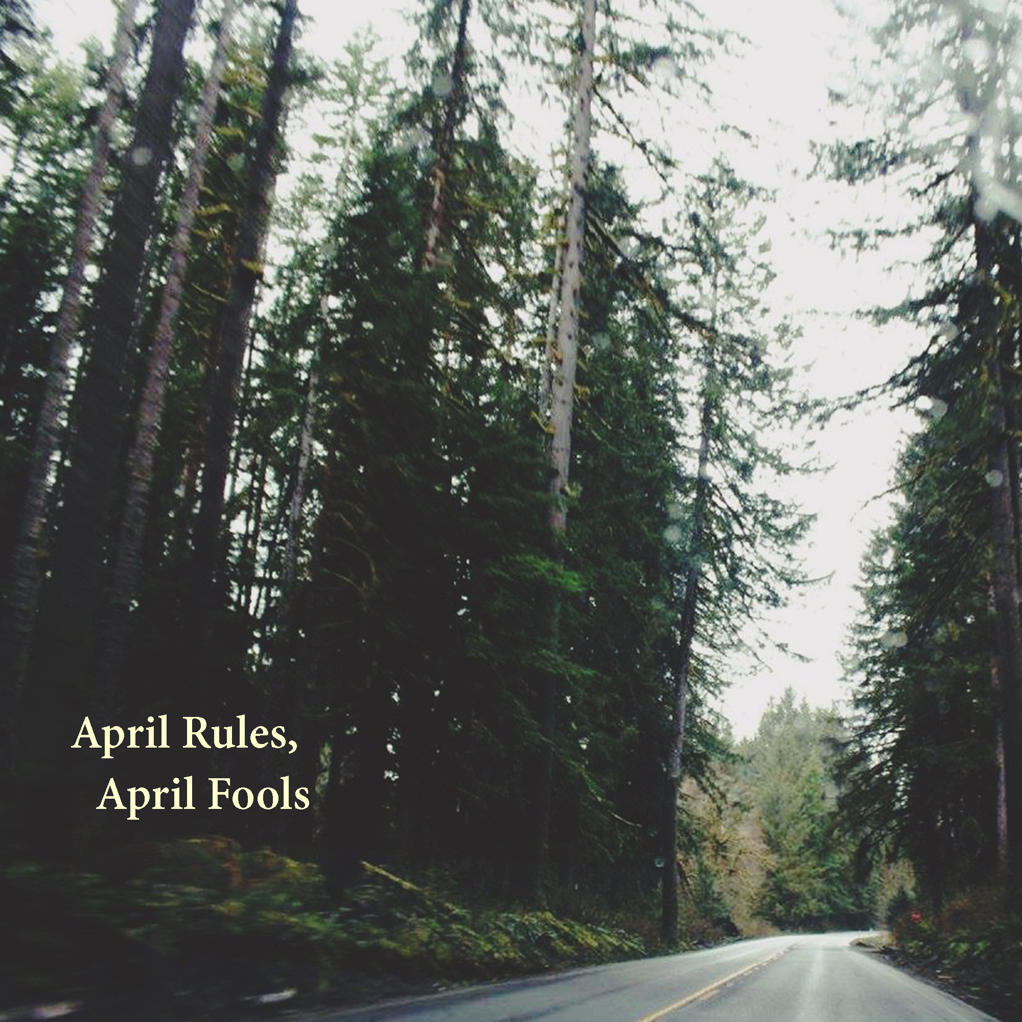 April Rules, April Fools   By Jae Melville.