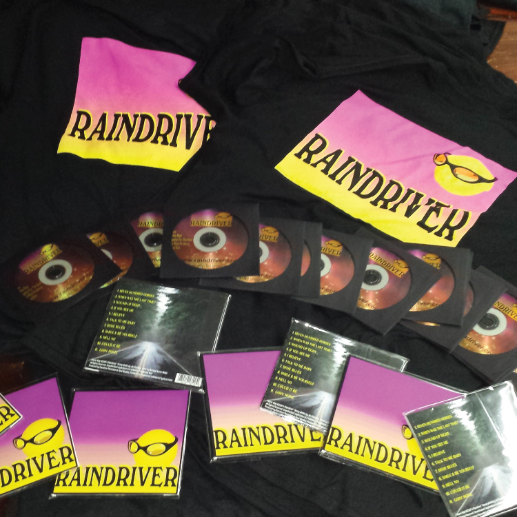 Raindriver CD with limited edition DVD!