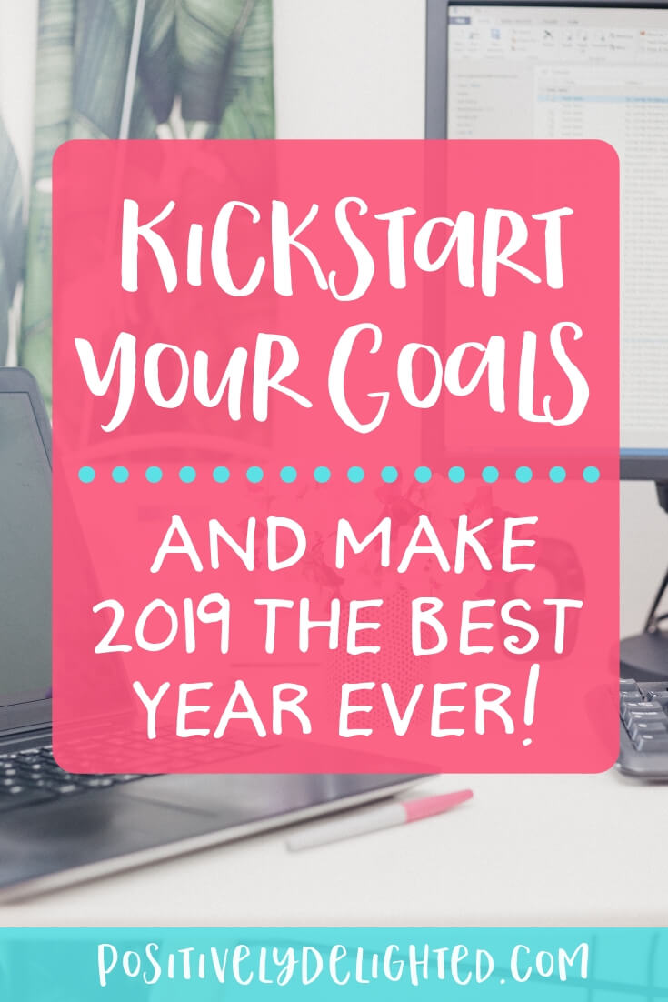 How would you like to make 2019 your best year ever? The year where you make things happen and you have a ton of fun along the way. That's what we're going to cover in this episode. We'll talk about how to not only set goals, but how to kickstart your goal setting in January, and make 2019 the best year ever. Plus, a ton of other fun information on gratitude, goal setting parties, tracking your goals, celebrating your wins, and more! #goalsetting #goalplanning #newyear #resolutions