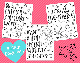 Mermaid affirmation coloring pages.jpg