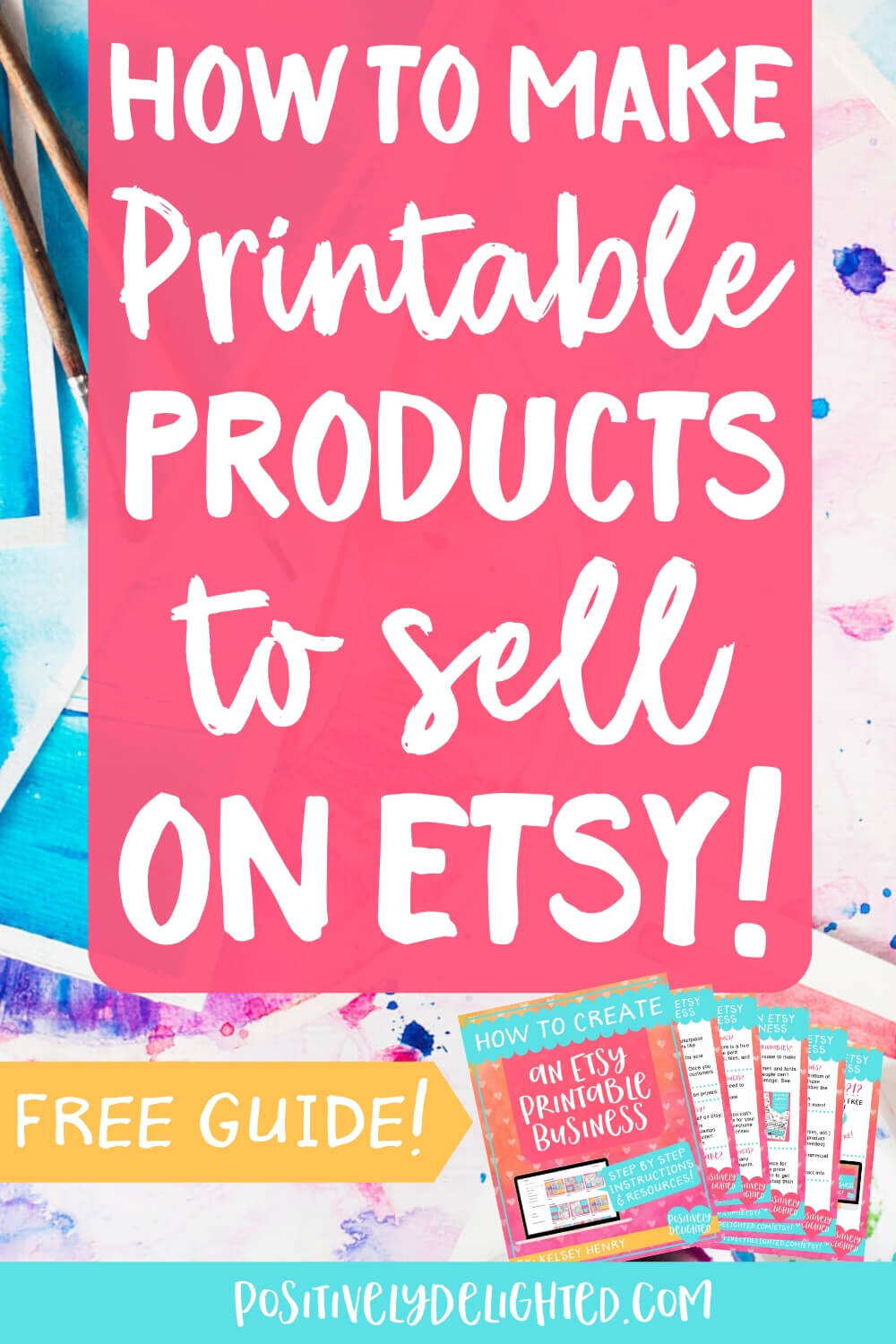How to Make Printable Products to Sell on Etsy — Positively Delighted