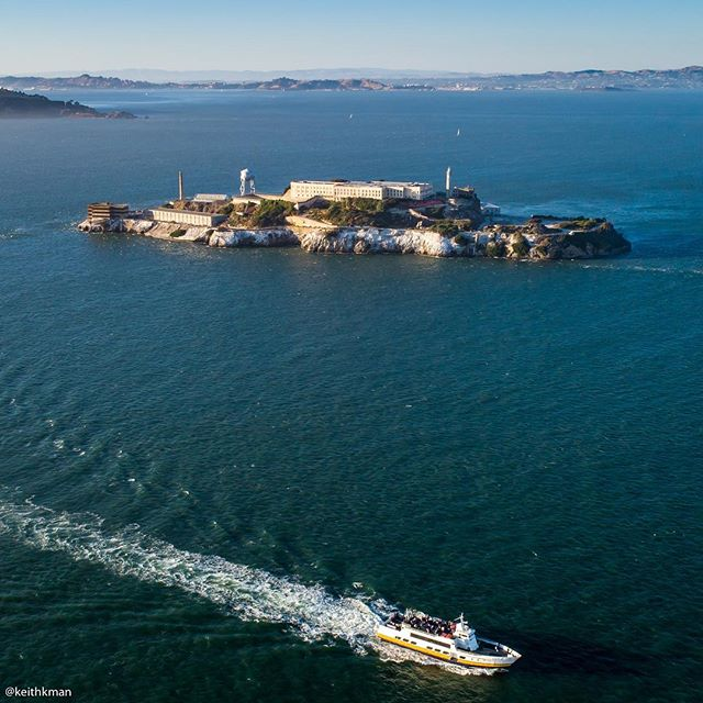 """I wonder if prisoners Elliot Michener, Richard Franseen, and Albert Smith knew their lasting legacy would ultimately be the beautiful flower gardens found to this day on """"Uncle Sam's Devil's Island"""" that they planted and tended? 🌸 @alcatraz_gardens"""