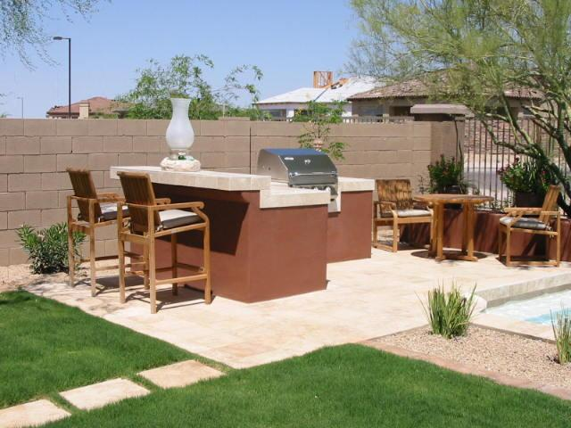L Shaped BBQ Island with Bar Stool Seating.jpg