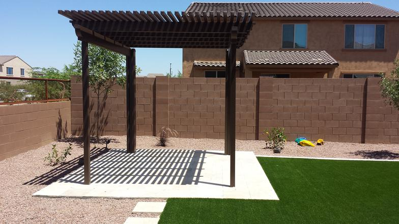Alumawood Pergola Elitswood Brown.jpg