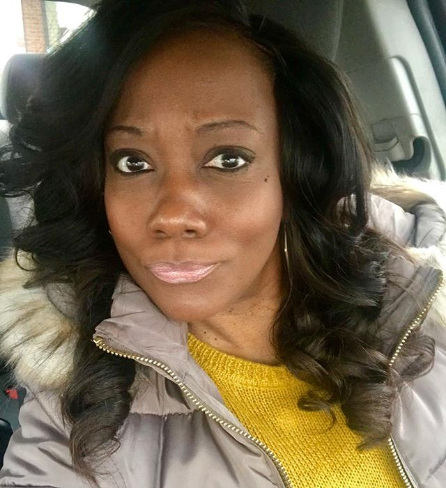 New year. New hair. New me. - #feelinmyselfie #yearof45 #mybestlife #clevelandgirl #dmv #maryland #selflove