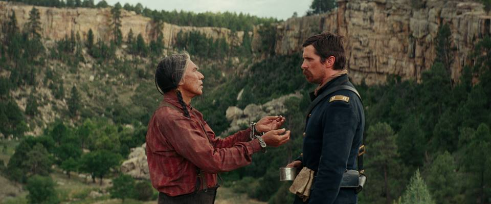 from  Hostiles Facebook Movie page