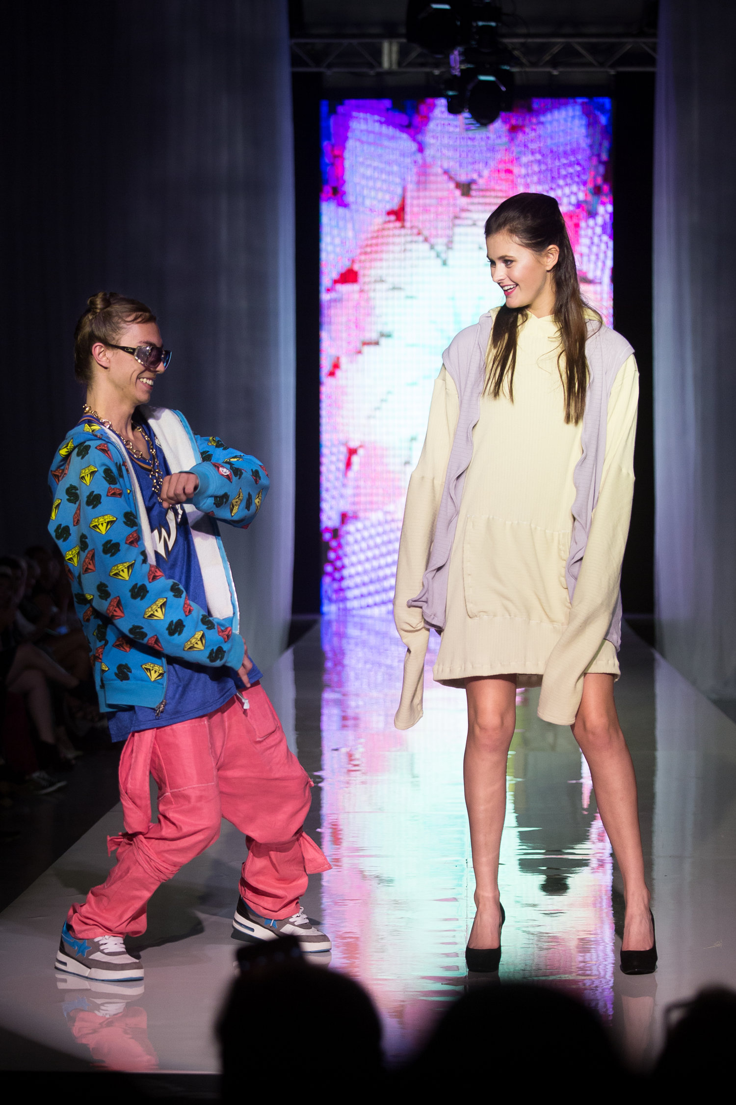 Christopher Di Giorgio S/S 2017 - Christopher making his Spring/Summer 2017 debut at Omaha Fashion Week.