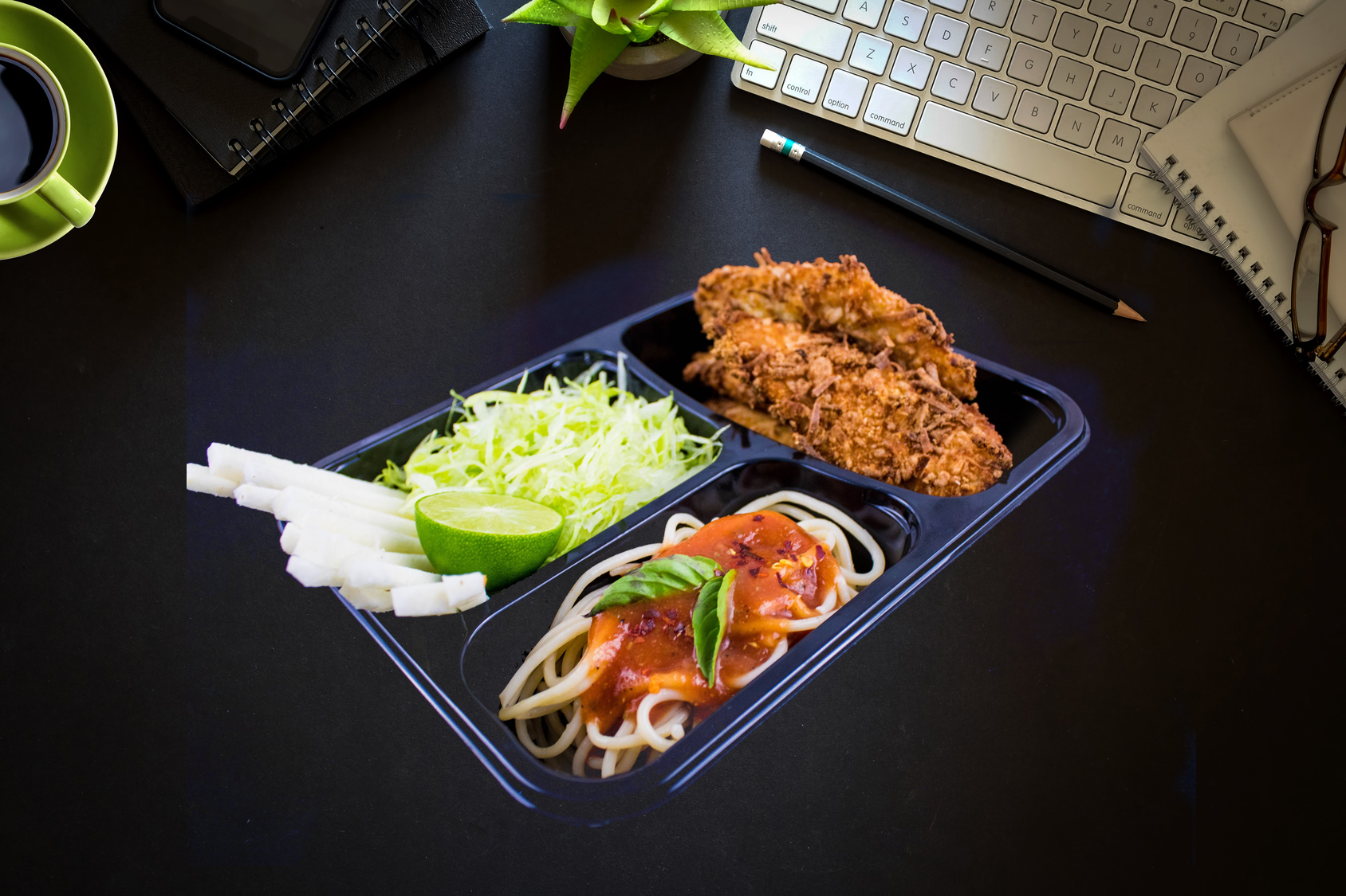 Alimentos a tu trabajo -