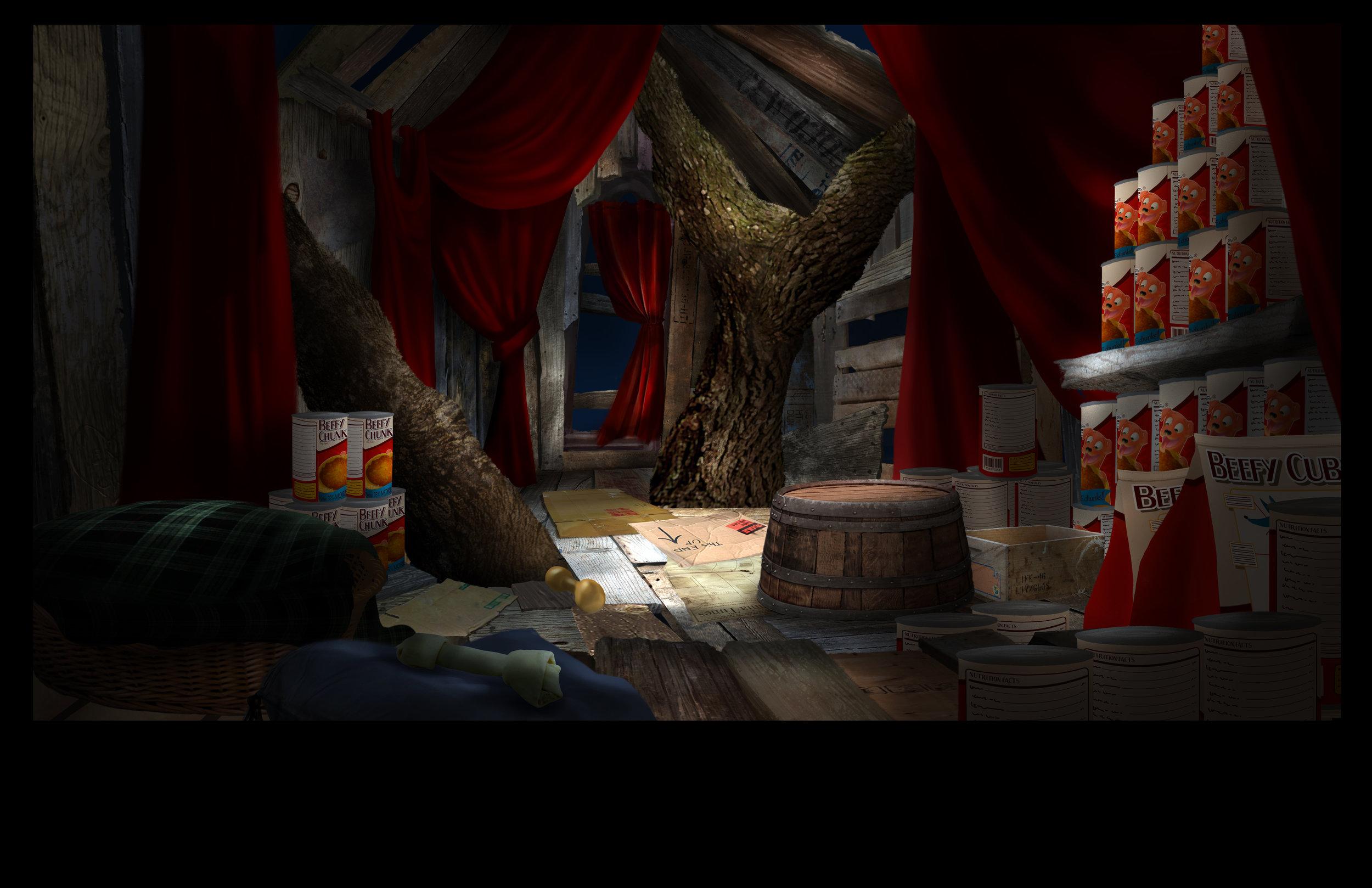 Winnie's Treehouse: Layout by Steve Lumley
