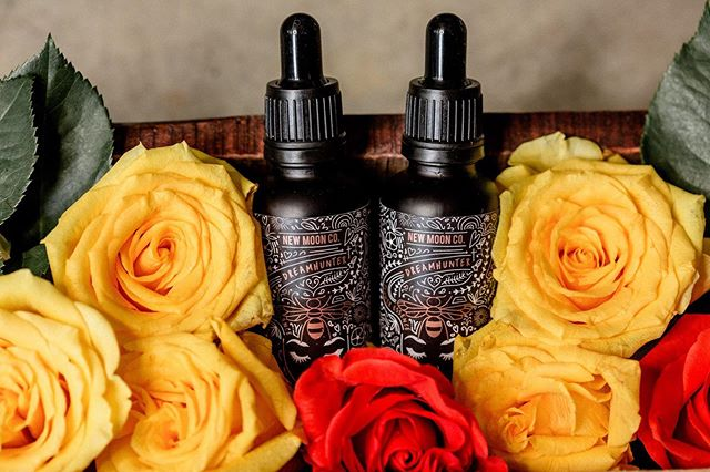 DREAMHUNTER 🌿 the roses have been so bright lately, the perfect time to make some rose flower essence 🤭 #newmoonco