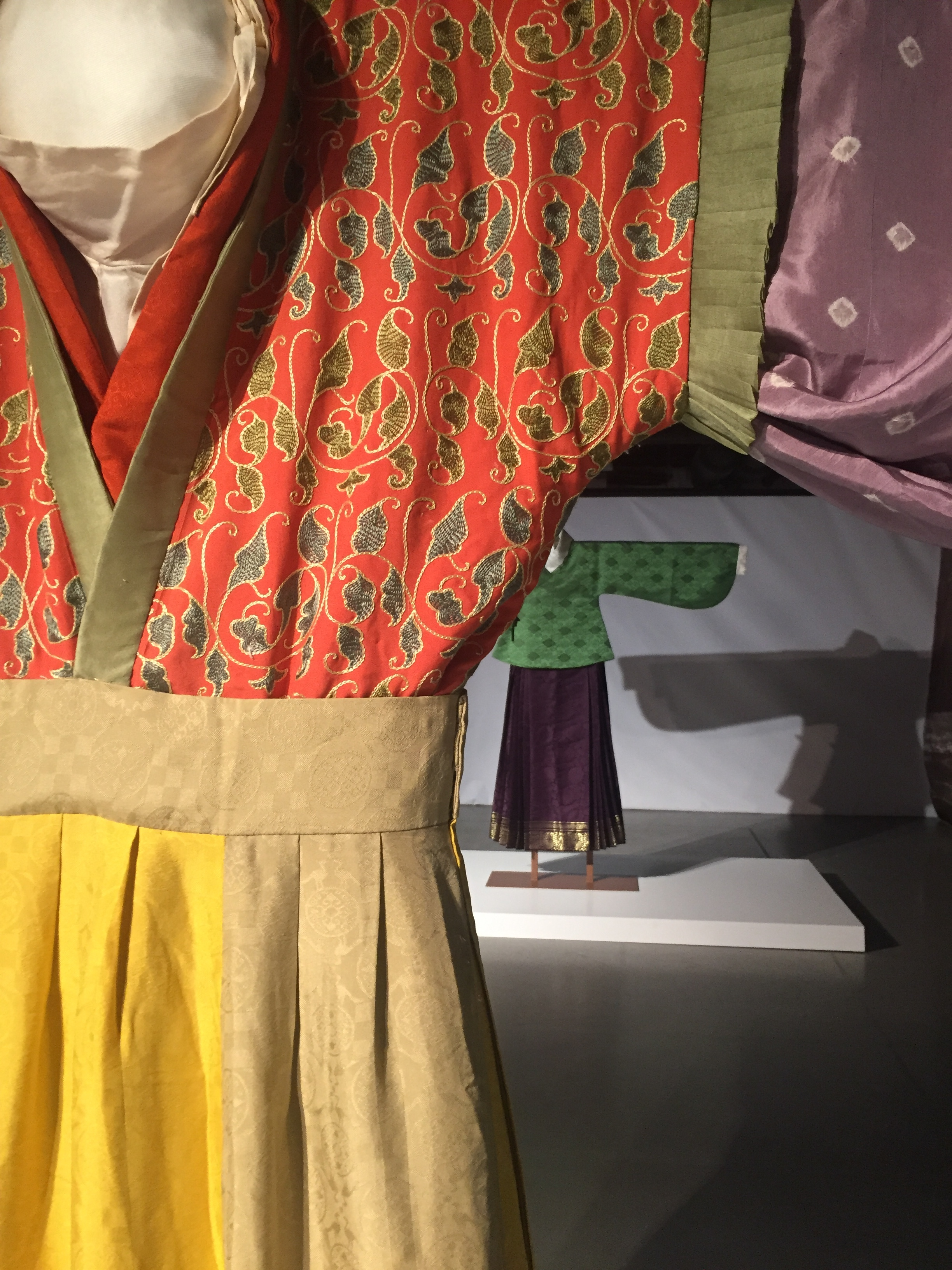 Lady's Dress, replica, Wei and Jin Periods and Sixteen Kingdoms, 220-460AD