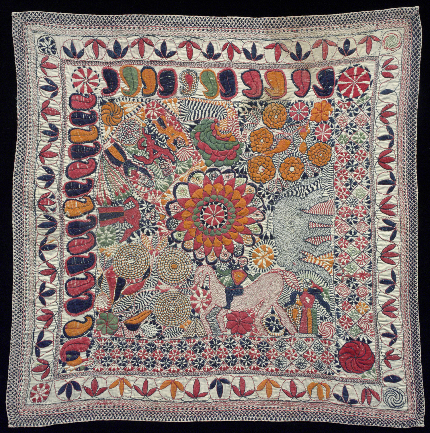 Made in Faridpur District, Bangladesh or West Bengal, India;Second half of 19th century