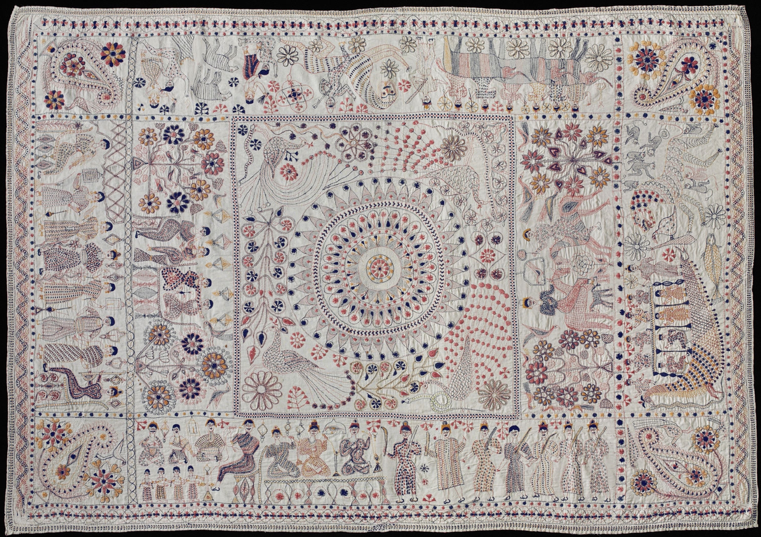 Made in Faridpur District, Bangladesh or West Bengal, India, Asia;Late 19th century