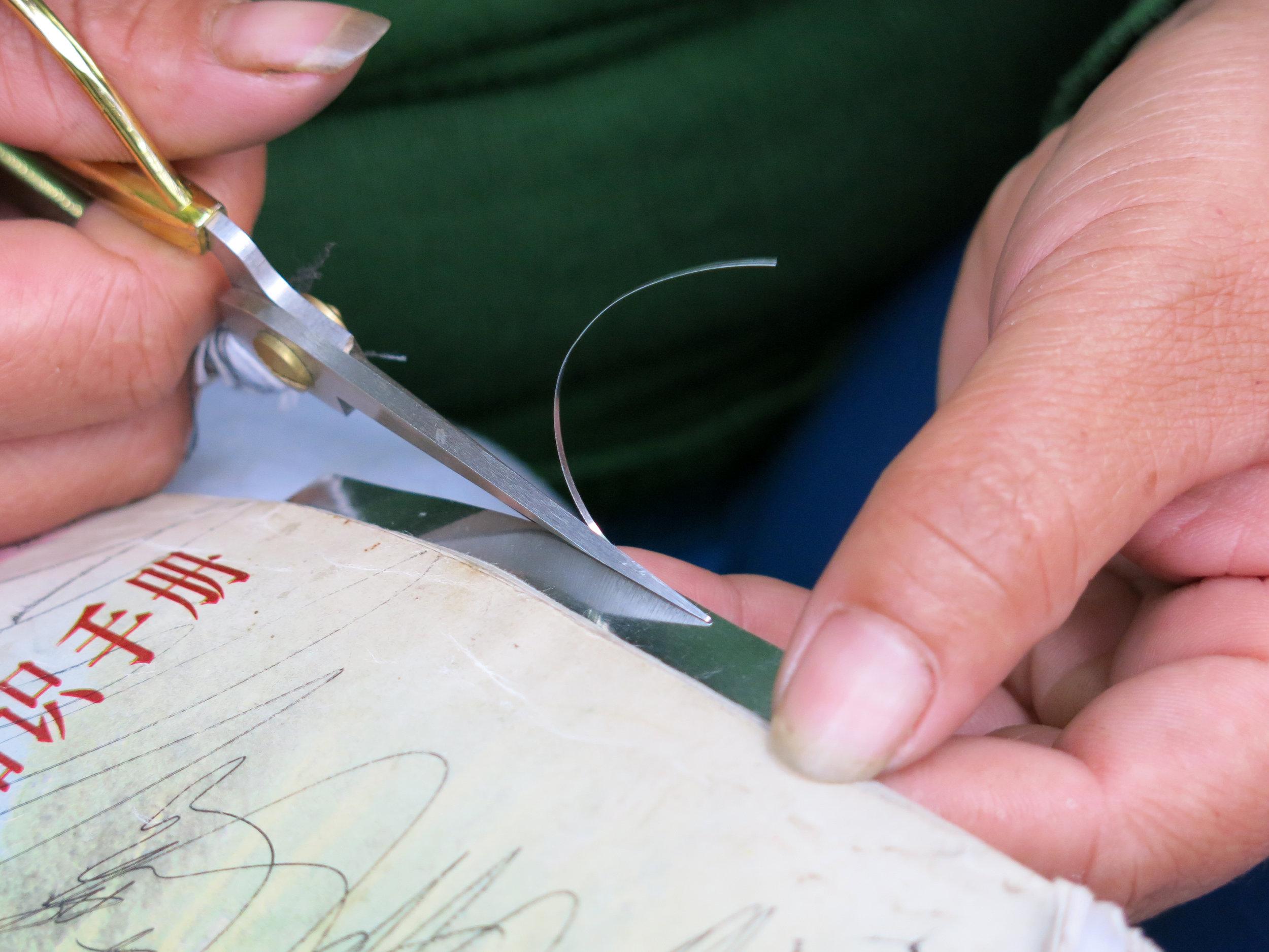 Tin sheet stripping