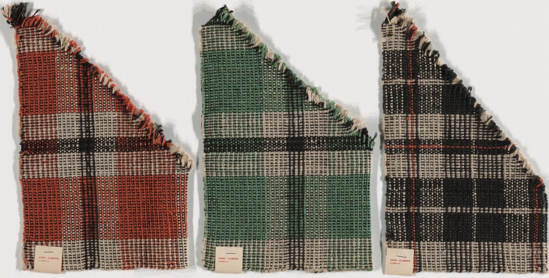Anni Albers. Bedspread Material for Harvard Graduate Center Dormitory. 1949