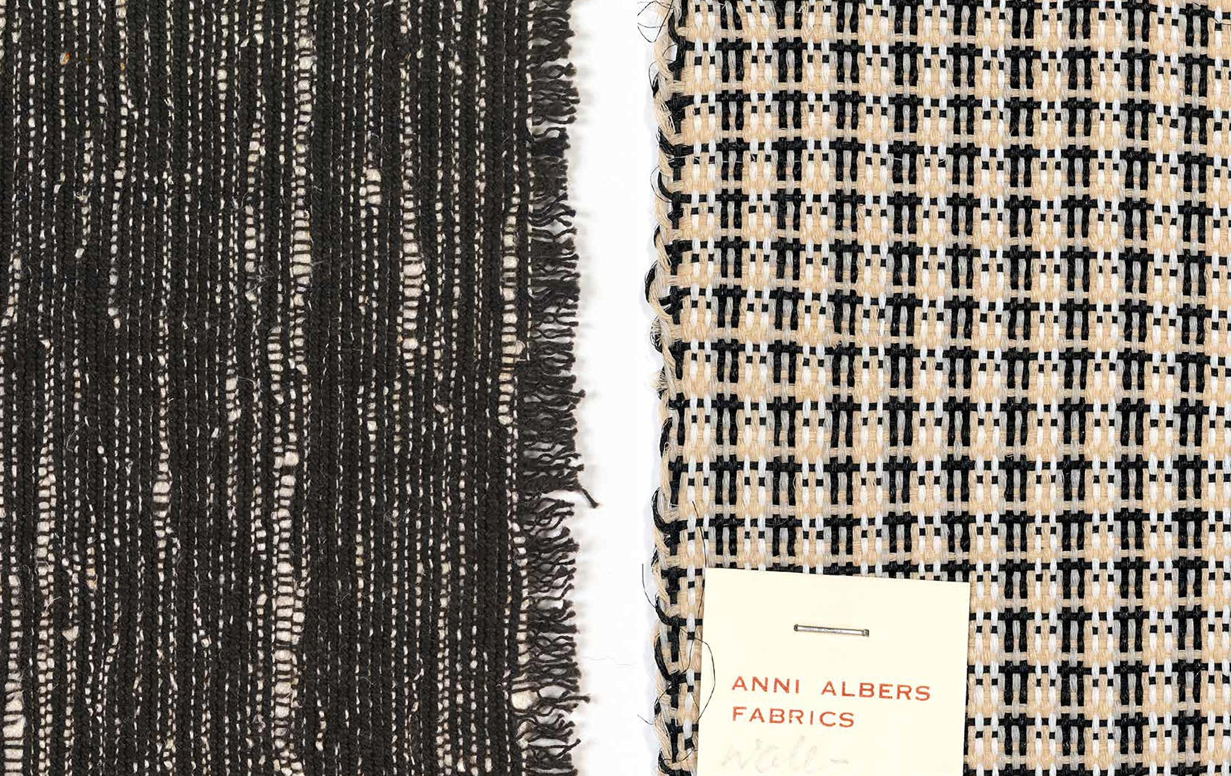 Anni Albers textile samplers. Tate publication