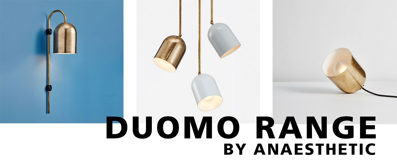 Miko Designs' designer lighting - Anaesthetic's Duomo range