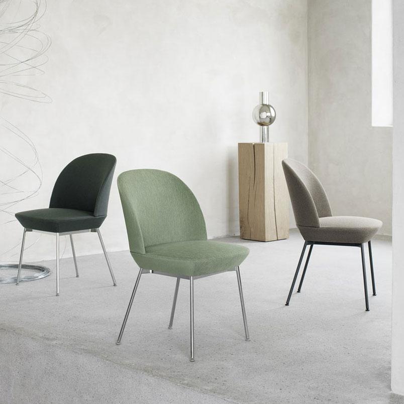 Oslo Side Chair  by  Muuto .