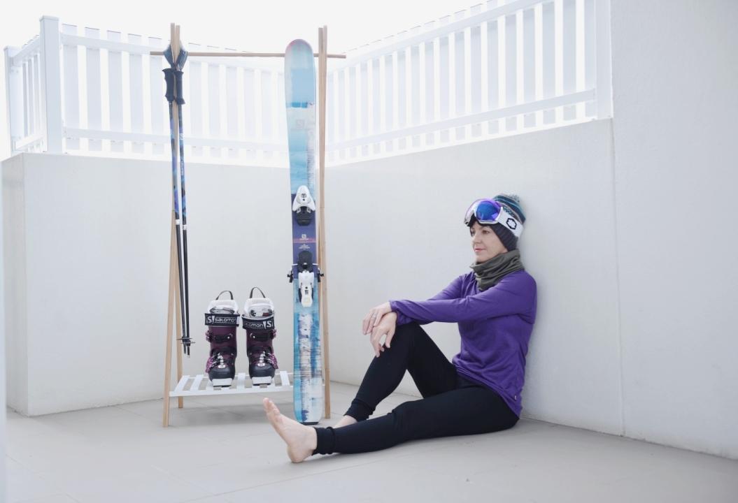 Thermal ski wear