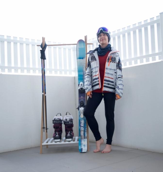 Sustainable Styling ski wear