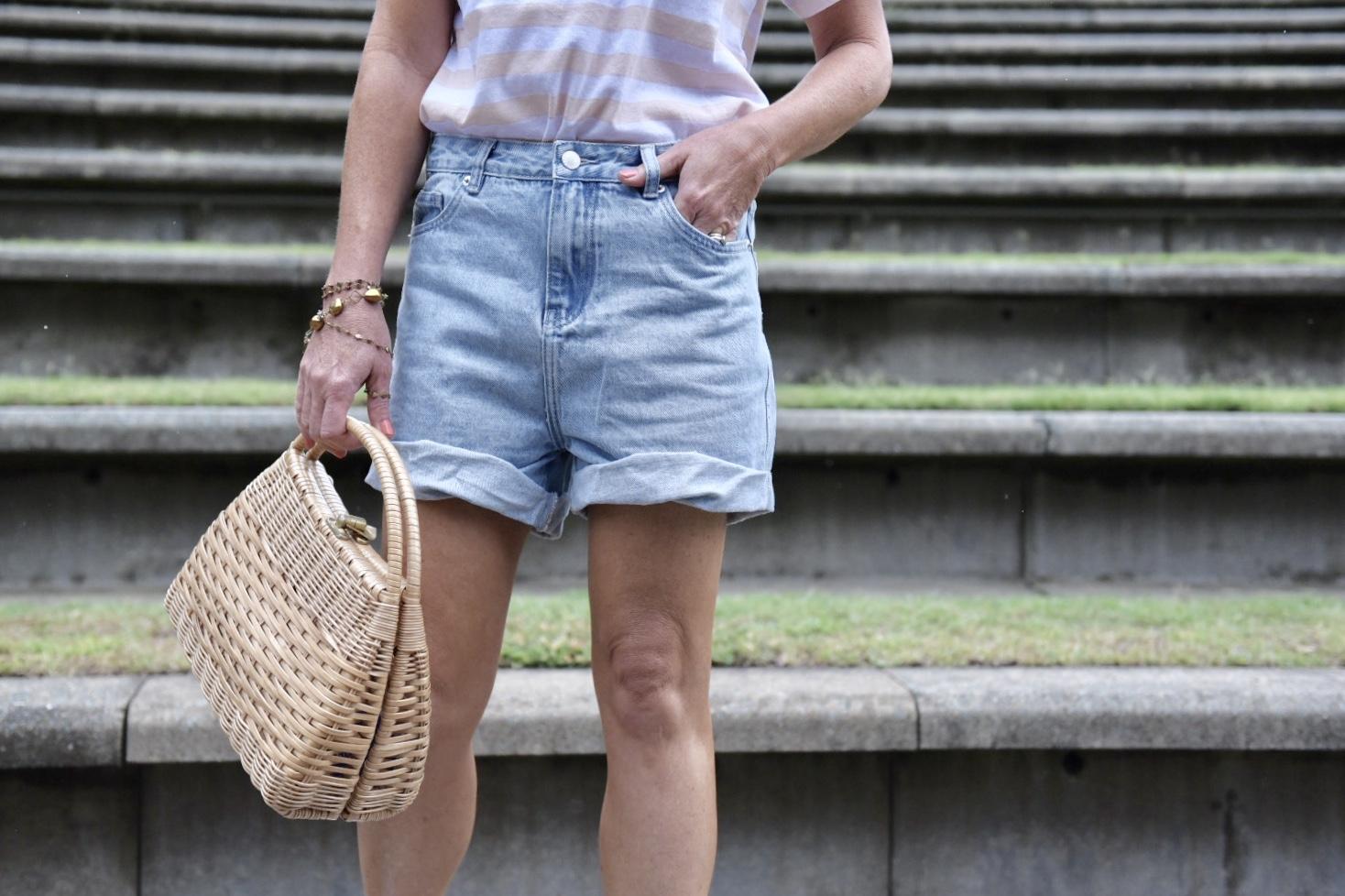 denim shorts for corporate chicks