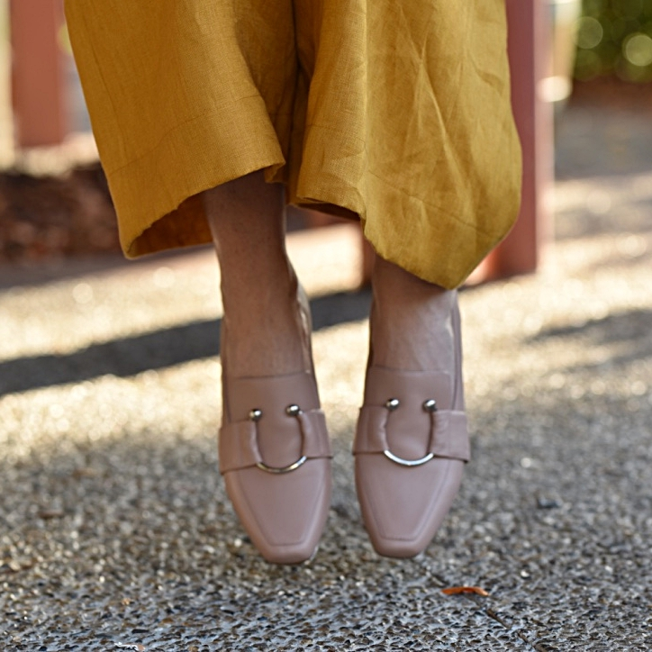 Copy of Copy of Sustainable styling nude loafers