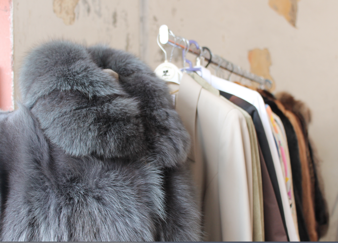 Sustainable Styling Vintage Fur