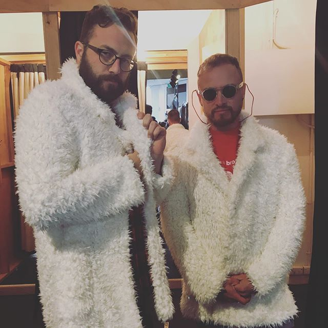 Playing some hits to celebrate @iamthegaze releasing his EP and nudes. July 19th at @thetotehotel. Go get tickets on his website. Iamthegaze.com  Also, who stole our coats?  #australianmusic #melbournemusicscene #gayaustralia #pop #australianmusicscene #melbourne