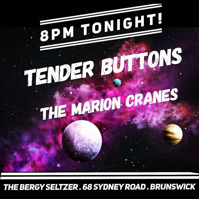WHAT A GREAT DAY TO PUT OUT A NEW SINGLE. Come for an intimate weird pop time. We don't know how to do sit down intimate shows but we're going to try. Tonight at @thebergyseltzer with these sexy biarchs @_tenderbuttons_