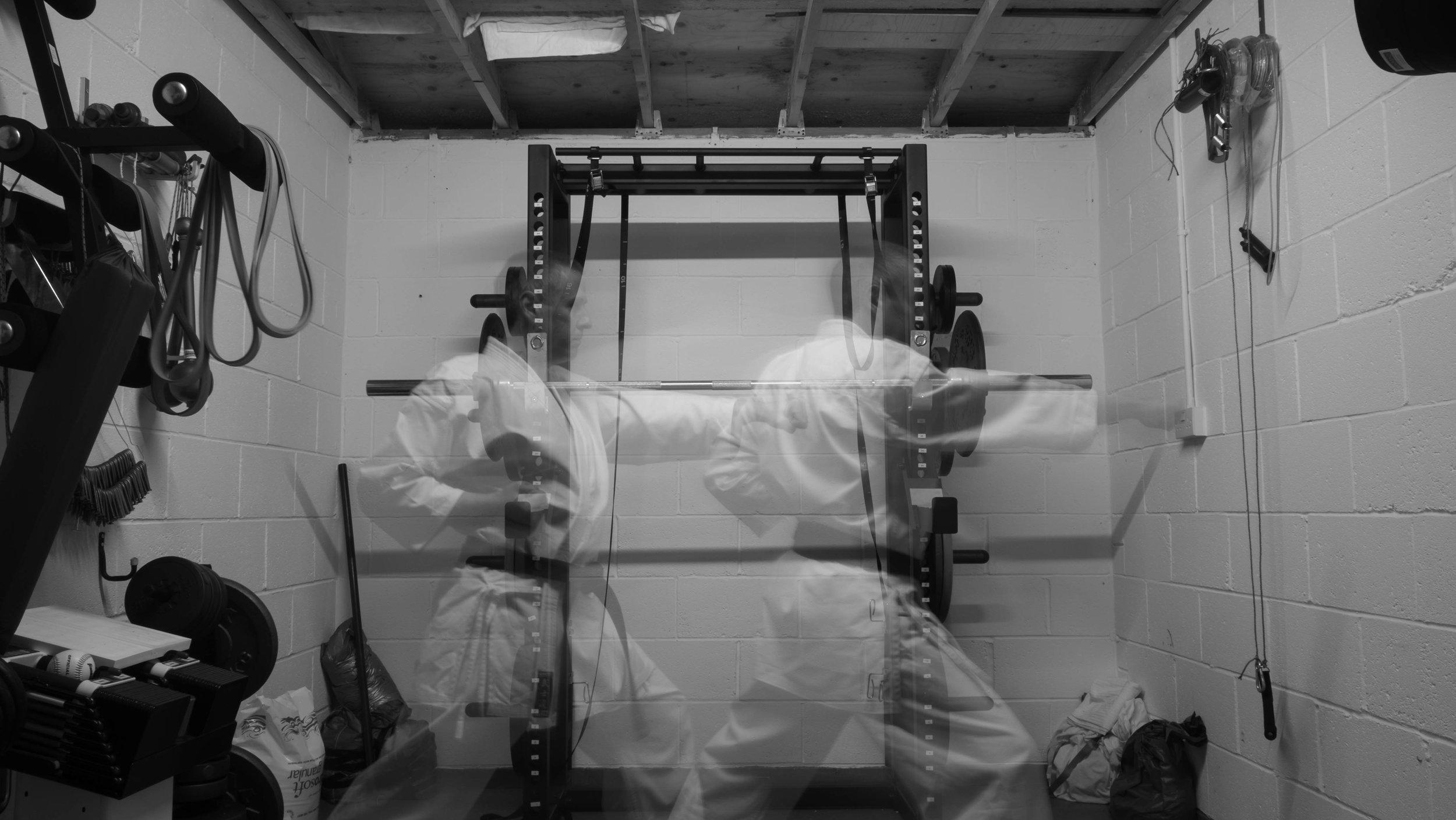Fuji X70 - Karate Training