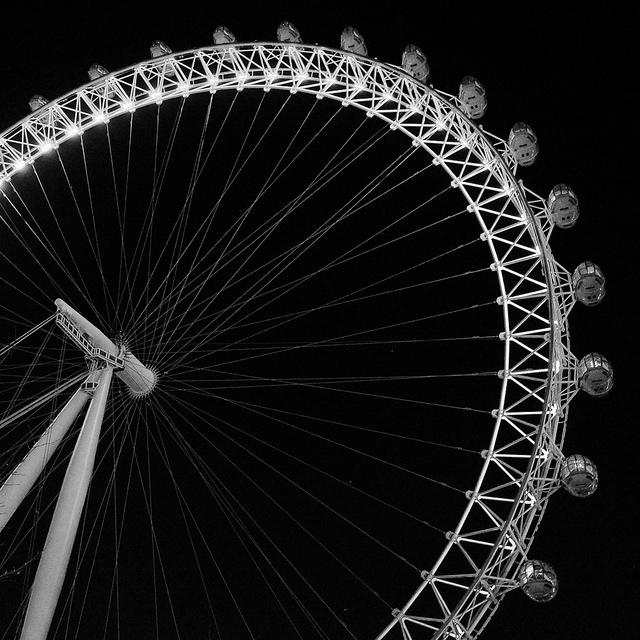 Fuji X70 -London Eye