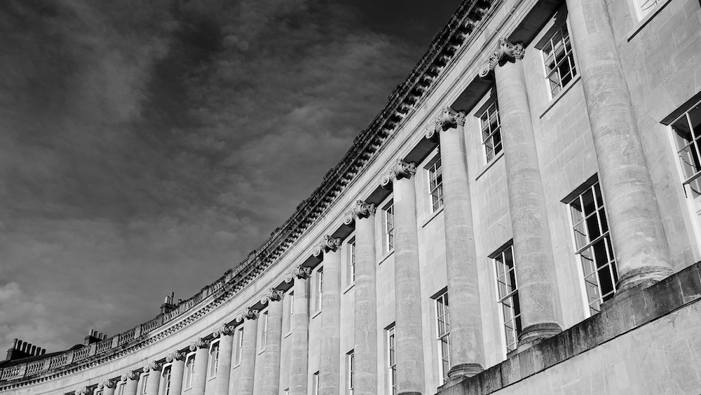 Fuji XT-1 & 23mm F2 WR - The Royal Crescent, Bath