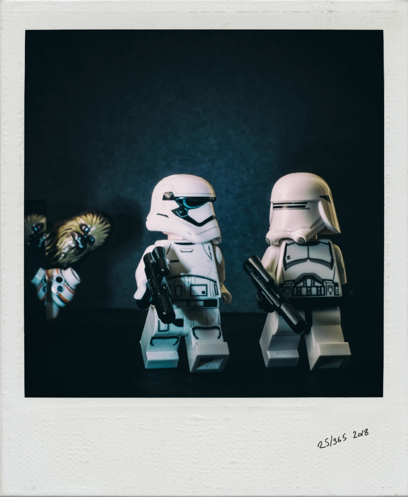 Stormy the Stormtropper and pals by Malcom Smith