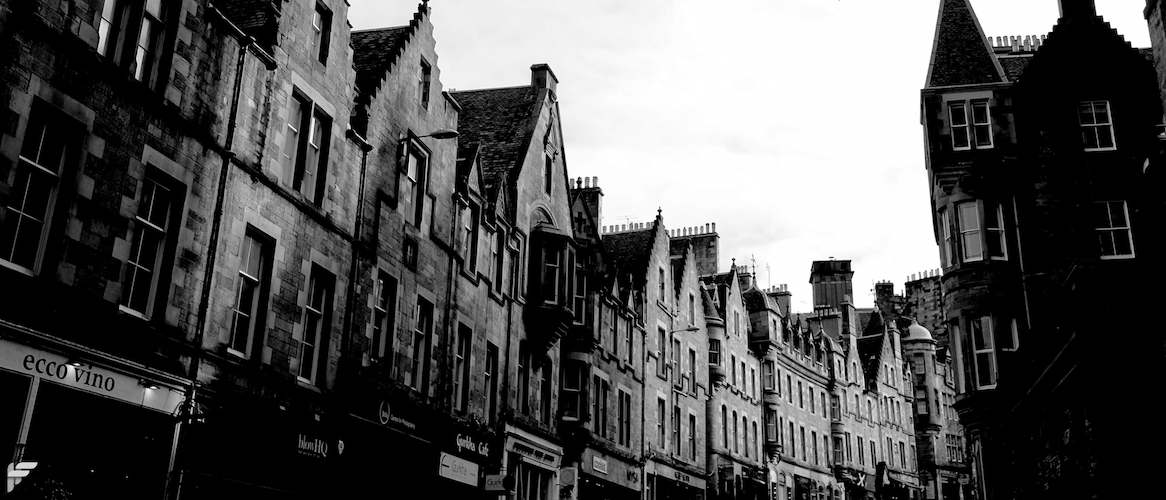 Edinburgh Old Town - Fuji X70